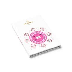 "My Happi Place ""The Happi Portal"" Journal Book w/ Ruled Line"