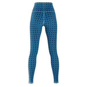 MHP Happi Crest Lined Allover Print Design blu/blk