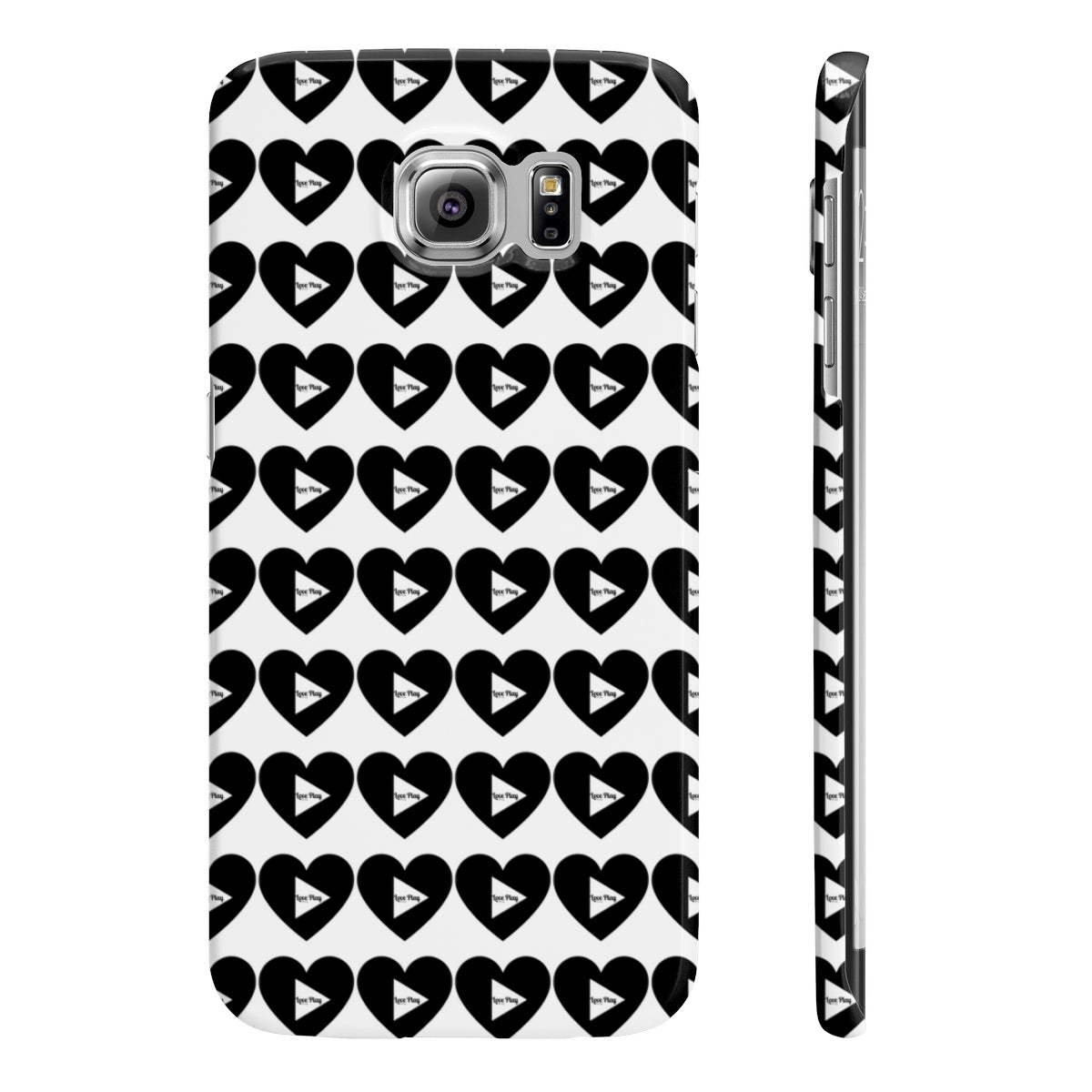 "My Happi Place ""Love Play"" Wpaps Slim Phone Cases"