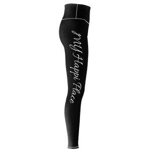 Infinity MW Design My Happi Place Yoga Pants wht/blk