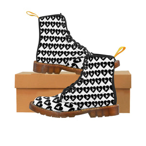 Women's Love Play Martin Boots by MW Design