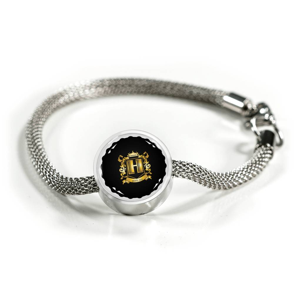 "MHP ""Lucky 1432"" Timeless [H] Crested Charm Bracelet"
