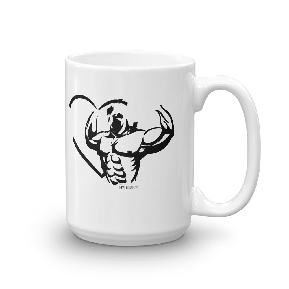 "MW Design ""LOVE STRENGTH"" Mug"