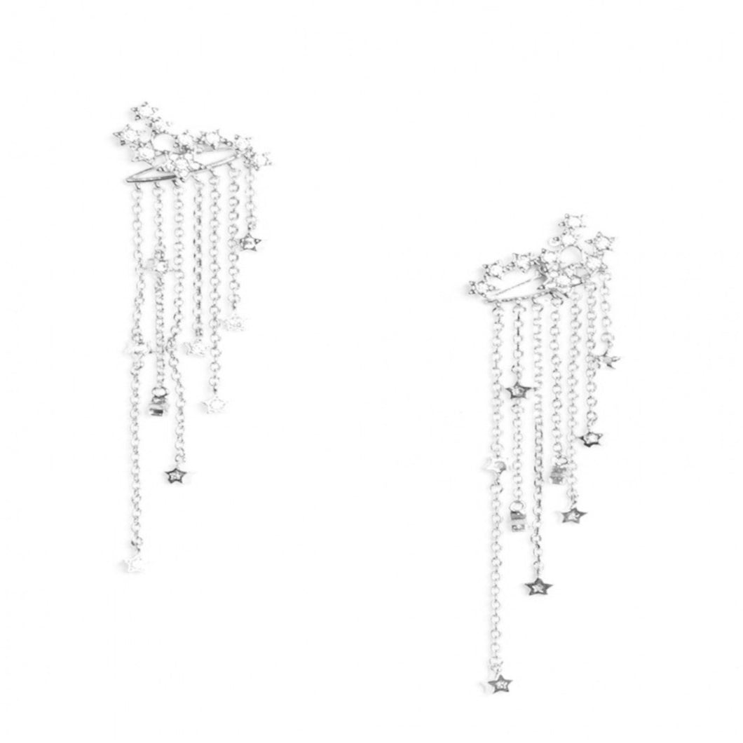STARBURST EARRINGS (SILVER)
