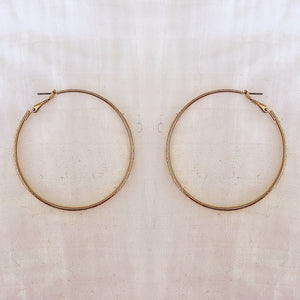 LA HOOP EARRINGS