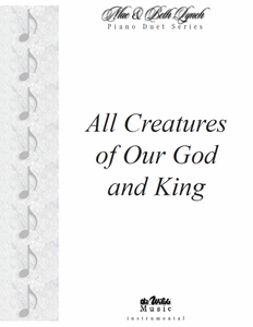 All Creatures of Our God and King-Piano Duet