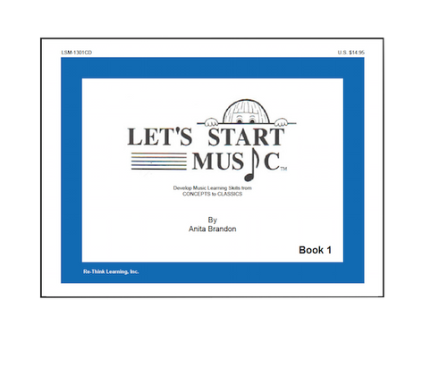 Let's Start Music Book 1