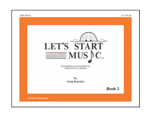 Let's Start Music Book 3