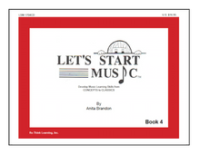 Load image into Gallery viewer, Let's Start Music Book 4