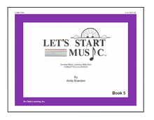 Load image into Gallery viewer, Let's Start Music Book 5
