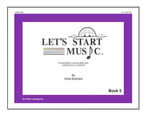 Let's Start Music Book 5