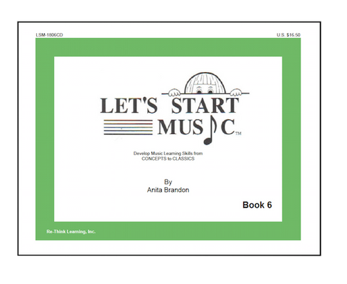 Let's Start Music Book 6