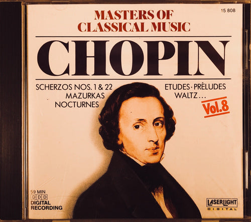 Masters of Classical Music: Chopin Vol. 8