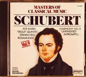 Masters of Classical Music: Schubert Vol. 9