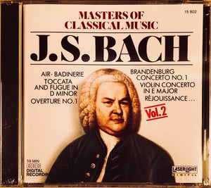 Masters of Classical Music: Bach Vol. 2