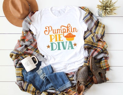 fall themed tee