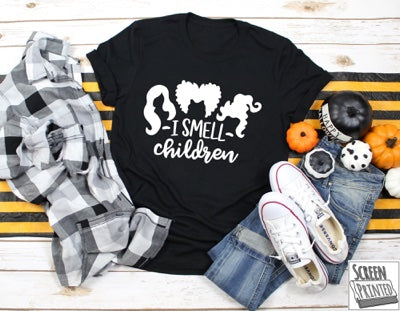 i smell children tee