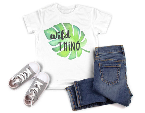 Wild Thing Palm Kid's Shirt