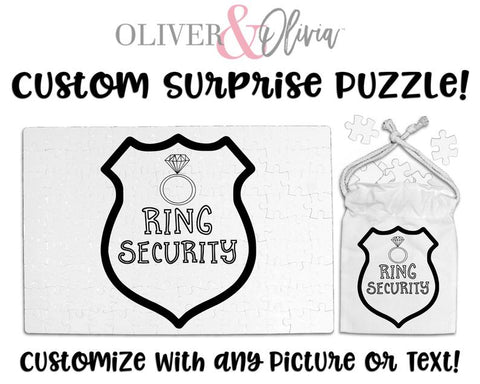 Will You Be My Ring Bearer Puzzle