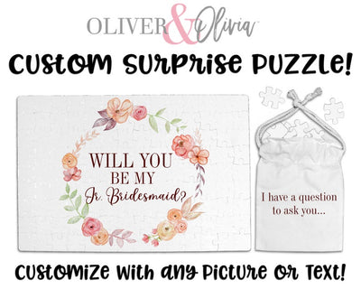 Will You Be My Jr Bridesmaid Puzzle