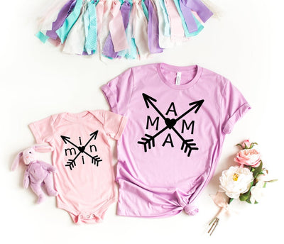 Mama + Mini Arrow Matching Shirts