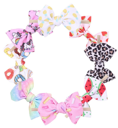 Girl Nylon Pattern Headband