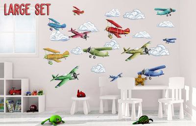 Air Planes Nursery Wall Decal