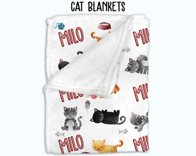 Personalized Cats Blanket
