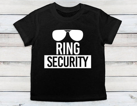 Ring Security Glasses Shirt