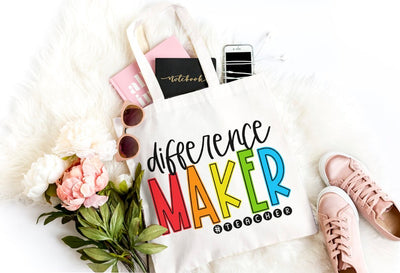 Difference Maker Teacher Bag