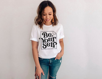 Be Yourself Retro Shirt