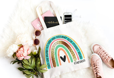 Teacher Life Rainbow Bag