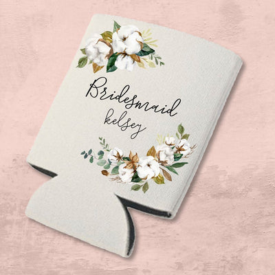Custom Bridesmaid Koozie