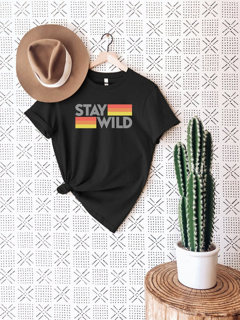 Stay Wild Stripe Shirt