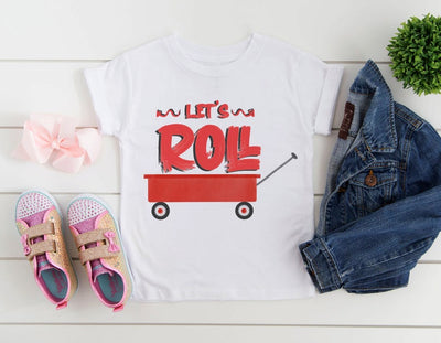 Let's Roll Wagon Retro Shirt