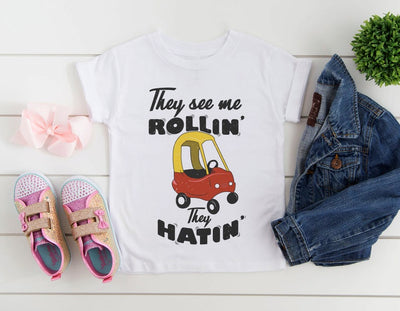 They See Me Rollin' They Hatin' Shirt