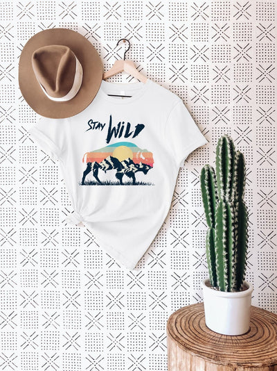 Stay Wild Buffalo Shirt