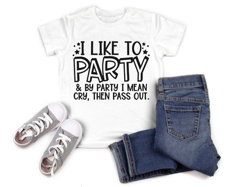 I Like To Party Shirt