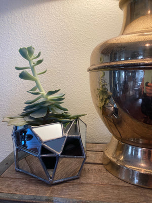 Sculptural Mirror Vase #5