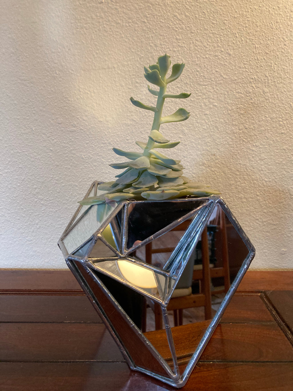 Sculptural Mirror Vase #4