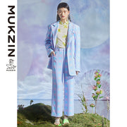 Mukzin Designer Brand Casual Wear Jacket  - DRAGON SCALE PAVILION