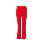 Mukzini Designer Brand Bell Bottom Pants High Waist Pants- DAAN