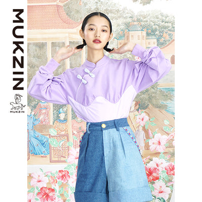 Mukzin Designer Lavender Shirt - ANIMAL DANCE