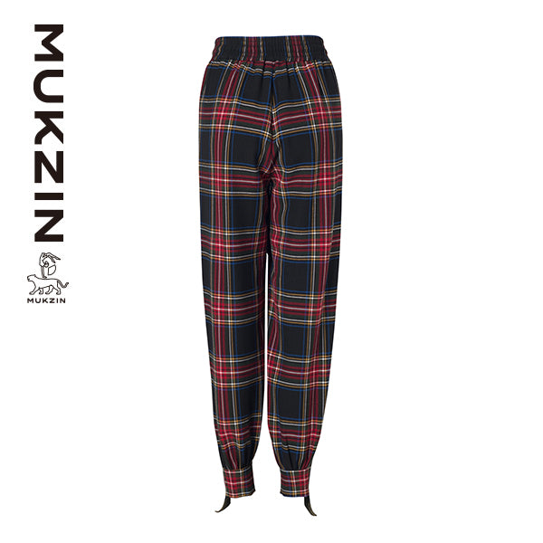 Mukzin Designer Brand High Waist Casual Pants- SPACE IN THE GOURD