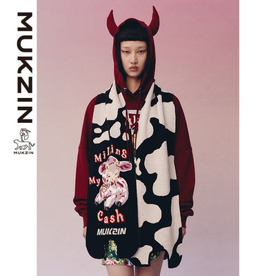 Mukzin Designer Brand Special Edition Design Scarf - JIA LONG