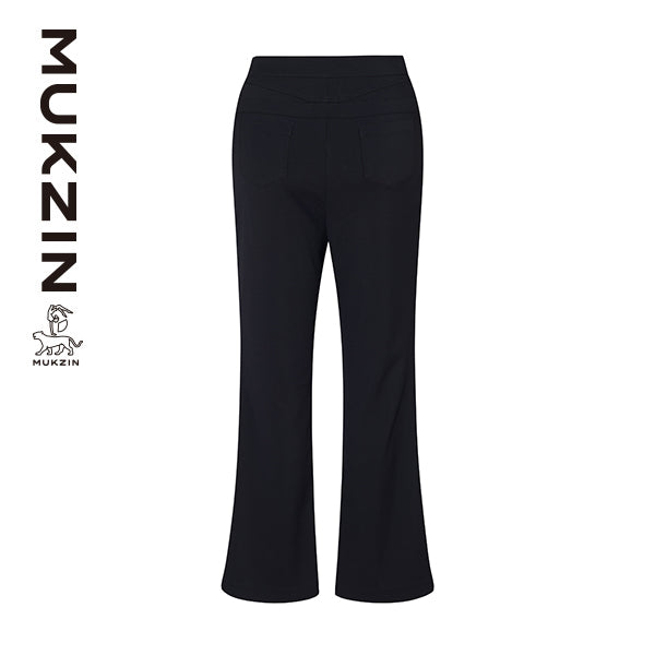 Mukzin Designer Brand Black Casual Pants--ADVENTURE IN SPACE