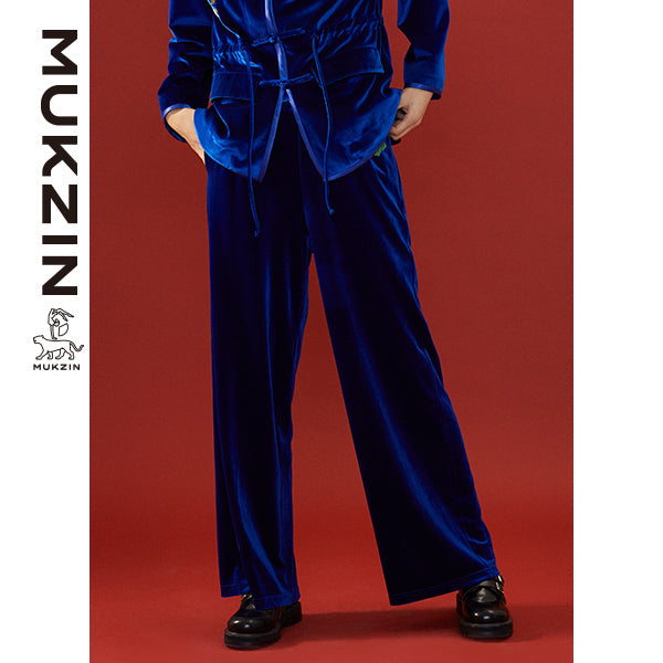 Mukzin Designer Brand Tang Suit Pants - SPACE IN THE GOURD