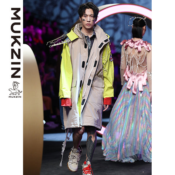 Mukzin Brand Runway Edition Contrast Color Jacket