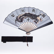 Mukzin Designer Brand Chinese Style Paper Folding Fan - The Theater of Mao'er