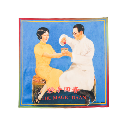 Mukzin The Magic Dan Printing Scarf - DAAN